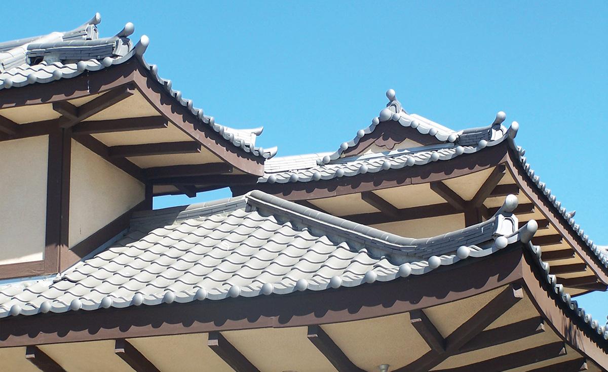 Roof Detail, Long Beach, CA